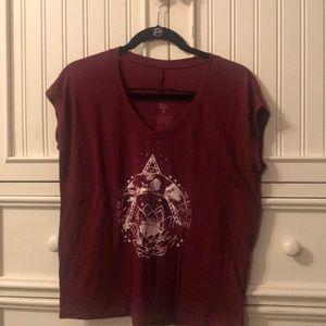 Red Tillys tee shirt